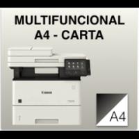Fotocopiadoras B/N Carta - A4